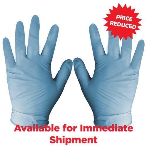 Blue Nitrile Large Sanitation Gloves Promotional Items