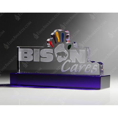 Bison Cares Custom Award
