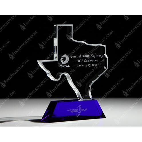 Custom State of Texas Award