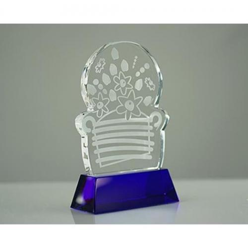 Edible Arrangement Colored Crystal Award