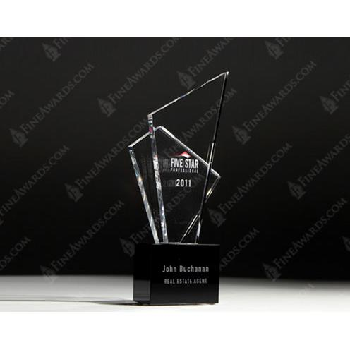 Five Star Professionals Crystal Award
