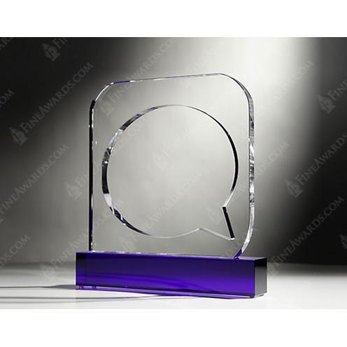 Custom Crystal Mashable Award