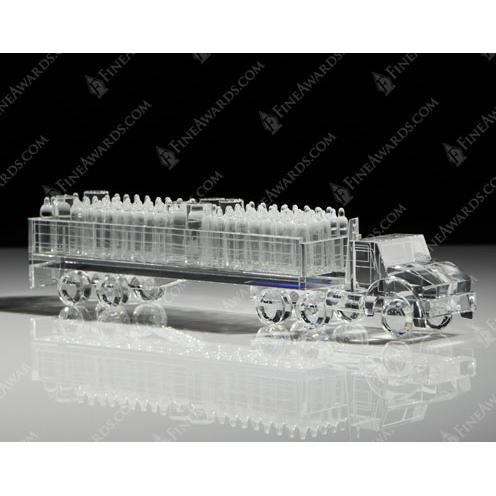 Air Liquide Crystal Gas Tanker Truck