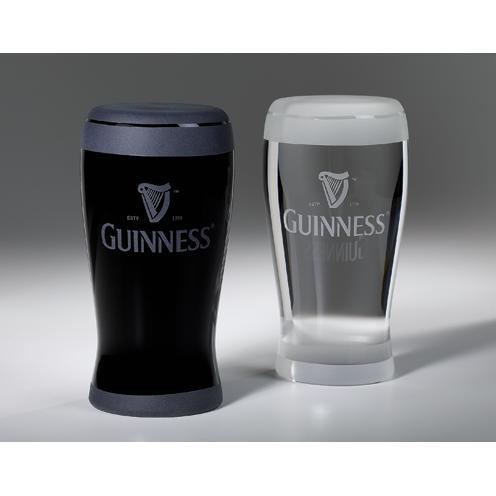 Custom Crystal Guinness Pint Glass Award
