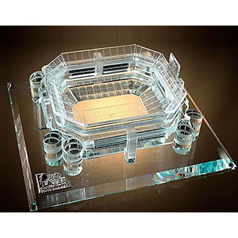 Miami Dolphin's Stadium Crystal Replica