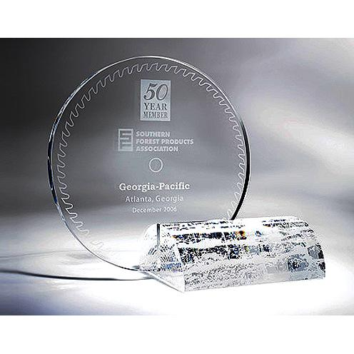 Southern Forrest Recognition Crystal Award