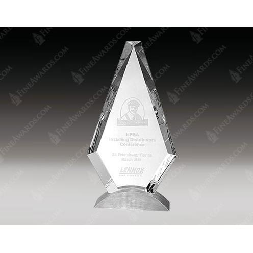 Clear Crystal Royal Diamond Award