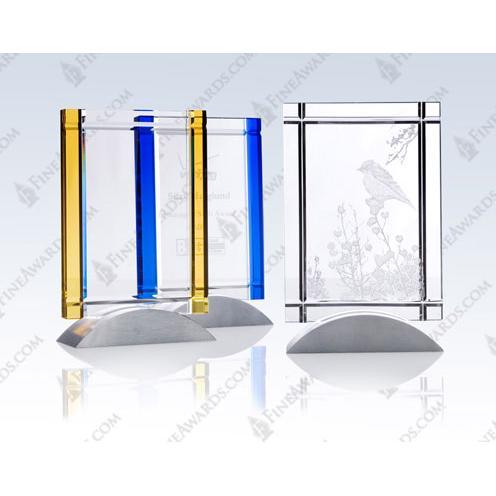 Clear Crystal Deco Award