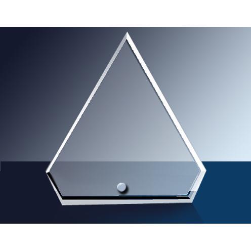 Cantebury Clear Glass Diamond Award