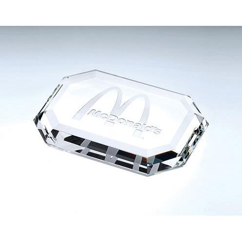 Crystal Rectangular Paperweight