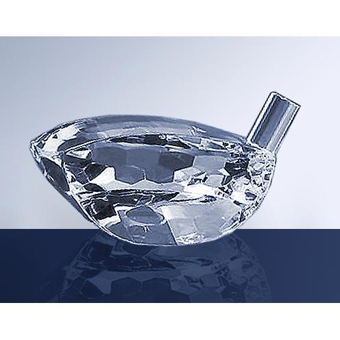 Clear Optical Crystal Driver Head Award