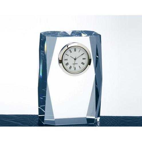 Crystal Fantasy Column Clock