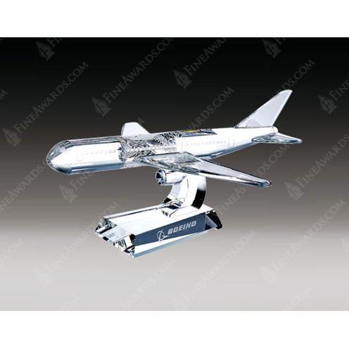 Clear Crystal Airplane Award