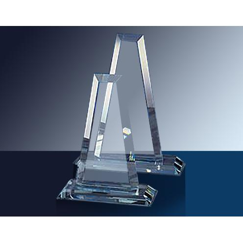 Clear Mini Tower Glass Award