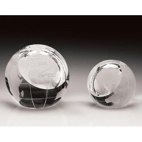 Clear Optical Crystal Sphere Paperweight