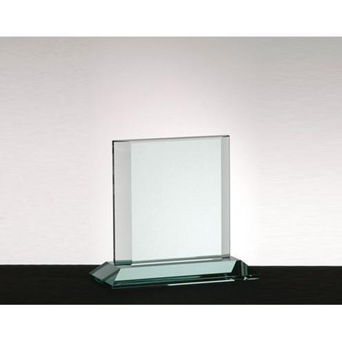 Square Jade Glass Athens Award