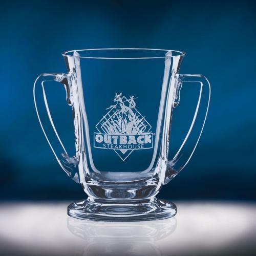 Clear Optical Crystal Regatta Cup