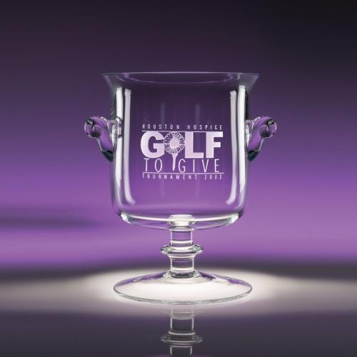 Clear Optical Crystal Mckinley Cup
