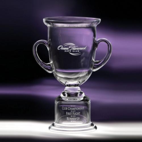 Clear Optical Crystal Adirondack Cup