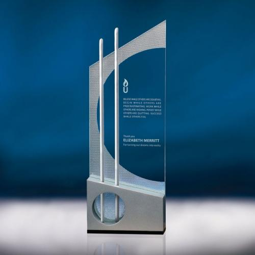 Endeavor Optical Crystal Tower Award