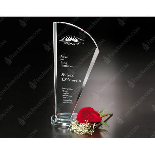 Clear Optical Crystal Merit Award