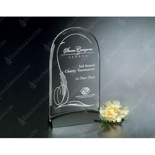 Cavalcade Optical Crystal Arch Award