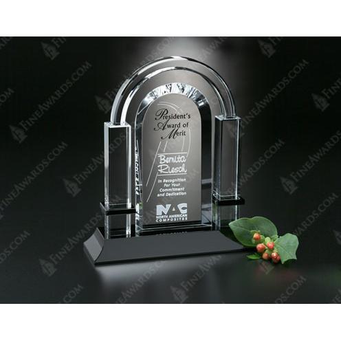 Biltmore Clear Optical Crystal Award