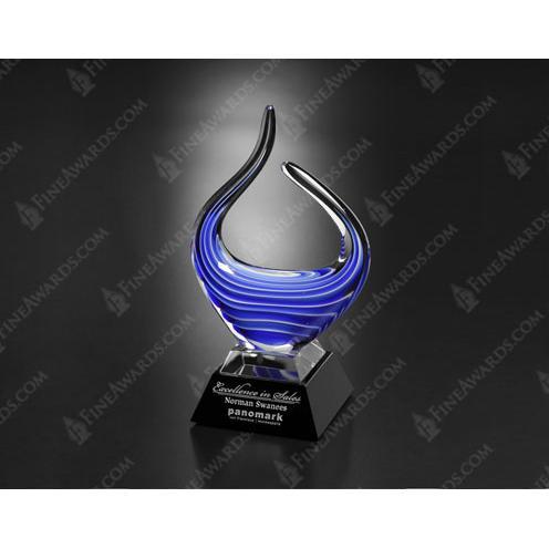 Blue Reflections Art Glass Award