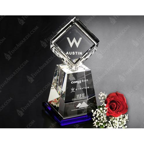 Awards in Motion Clear Crystal Albany Award