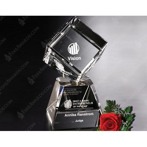 Awards in Motion Clear Crystal Arden Award