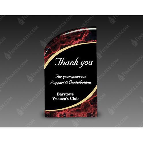 Red & Black Radiance Acrylic Award