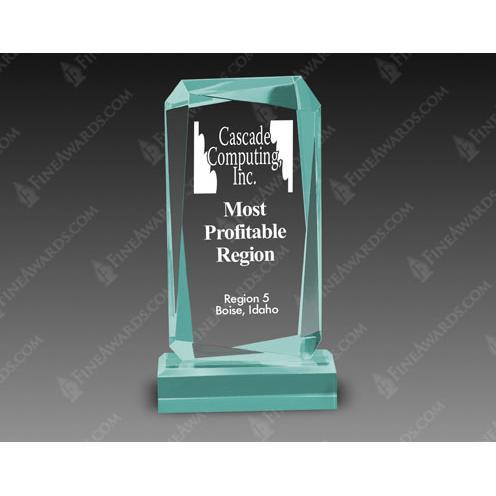 Jade Acrylic Rectangle Award