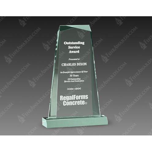 Jade Gem Acrylic Award
