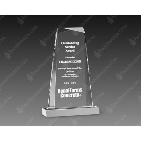Clear Gem Acrylic Award