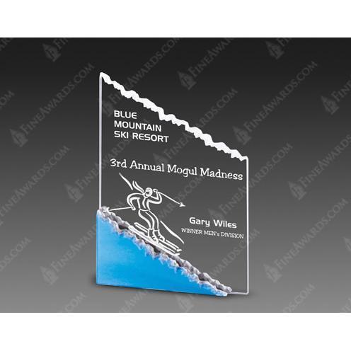 Blue Mountain Clear Acrylic Mount Climbing Award