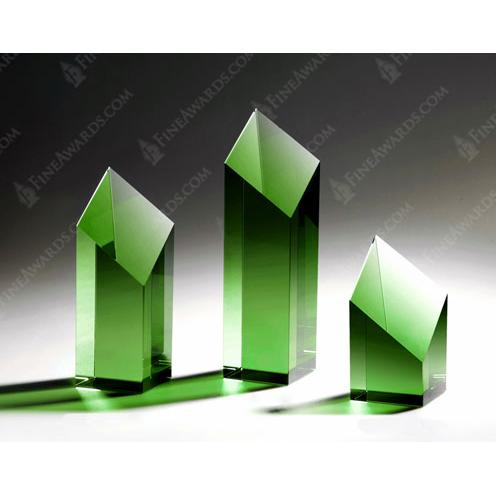 Green Crystal Diamond Tower Award
