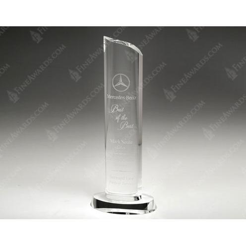 Clear Crystal Tower Award