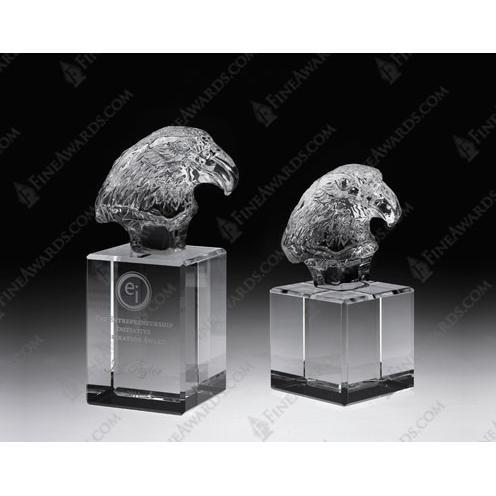 Clear CrystaL Eagle Head II