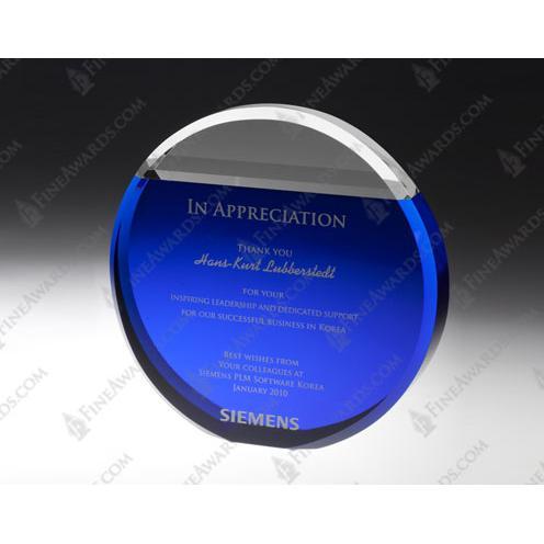 Crystal Blue Sky Circle Award