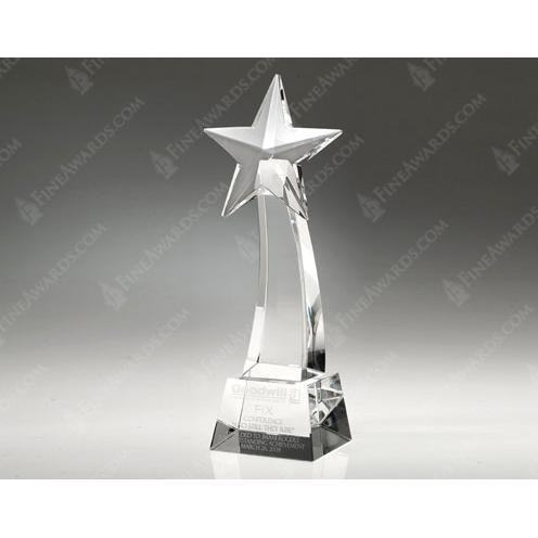 Clear Crystal Star Rising Award