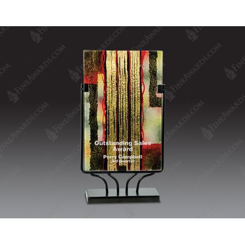 Rectangular Art Glass Award1