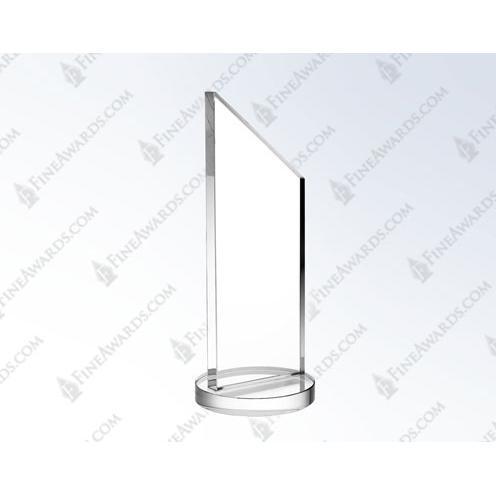 Clear Crystal Apex Award