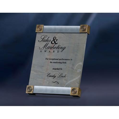 Multi Slate Award with Graphite Trim