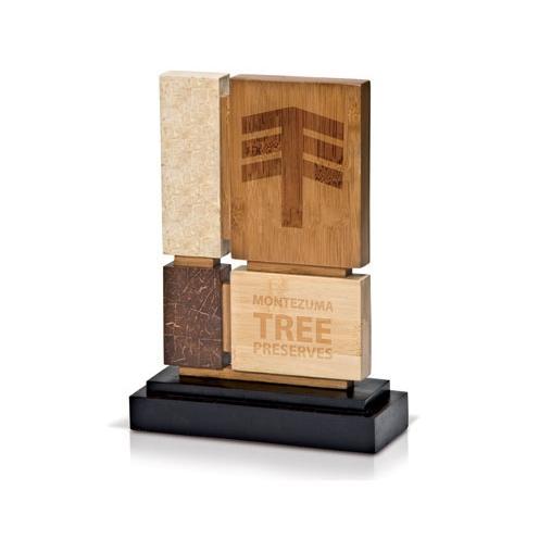 Eco Friendly Wooden Award Trophy