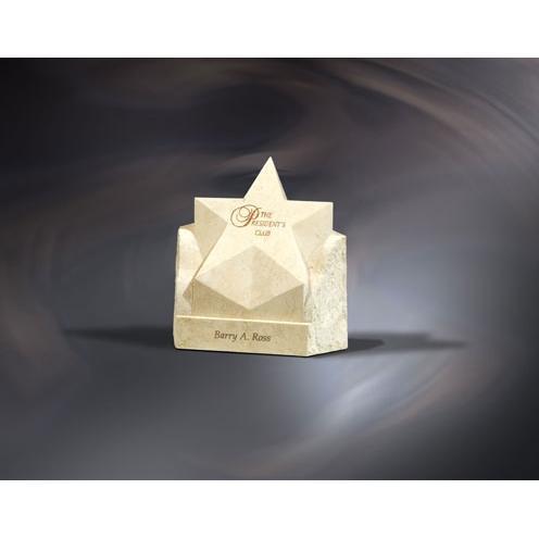 Rising Star Stone Award Trophy