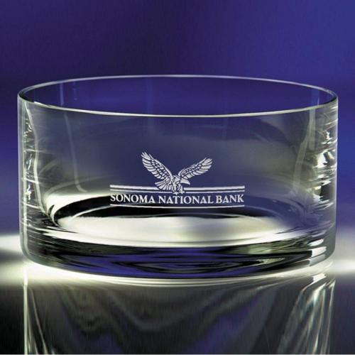 Carrington Optical Crystal Shallow Bowl Gift