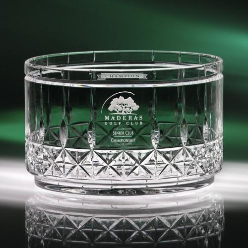 Clear Optical Crystal Concerto Bowl