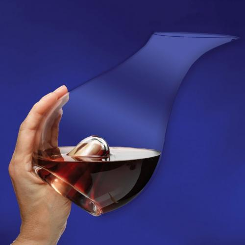 Clear Optical Crystal Essence Blown Wine Decanter