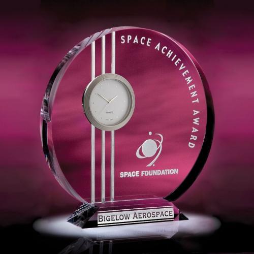 Neo Metro Optical Crystal Clock Award
