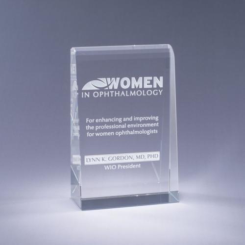 Brilliante Custom Optical Crystal Award
